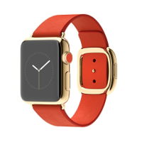 Apple Watch Edition with red band イメージ